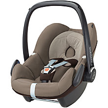 Buy Maxi-Cosi Pebble Car Seat, Earth Brown Online at johnlewis.com