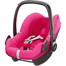 Buy Maxi-Cosi Pebble Infant Carrier, Berry Pink Online at johnlewis.com