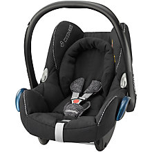 Buy Maxi-Cosi Cabriofix Baby Car Seat Group 0+, Digital Black Online at johnlewis.com