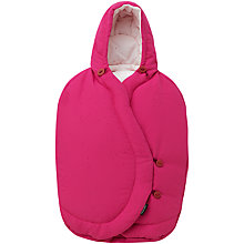 Buy Maxi-Cosi Pebble Footmuff, Berry Pink Online at johnlewis.com