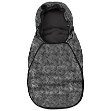 Buy Maxi-Cosi Cabriofix Footmuff, Digital Black Online at johnlewis.com