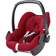 Buy Maxi-Cosi Pebble Group 0+ Baby Car Seat, Robin Red Online at johnlewis.com