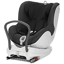 Buy Britax Dualfix Group 0+ Car Seat, Black Thunder Online at johnlewis.com