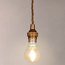 Buy Calex BC Pendant Set, Antique Brass Online at johnlewis.com