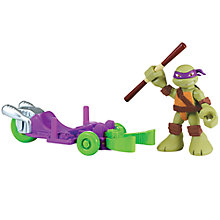 Buy Teenage Mutant Ninja Turtles Half-Shell Heroes: Donnie With Luge Online at johnlewis.com