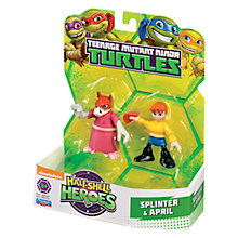 Buy Teenage Mutant Ninja Turtles Half-Shell Heroes: Splinter & April Online at johnlewis.com