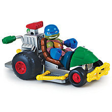 Buy Teenage Mutant Ninja Turtles Half-Shell Heroes: Patrol Buggy With Racer Leo Online at johnlewis.com