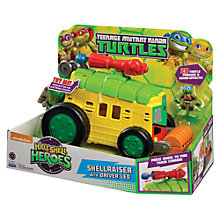 Buy Teenage Mutant Ninja Turtles Half-Shell Heroes: Shellraiser With Driver Leo Online at johnlewis.com