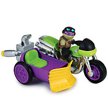 Buy Teenage Mutant Ninja Turtles Half-Shell Heroes: Rippin' Rider With Biker Donnie Online at johnlewis.com