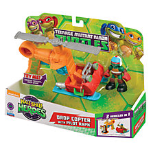 Buy Teenage Mutant Ninja Turtles Half-Shell Heroes: Drop Copter With Raph Online at johnlewis.com