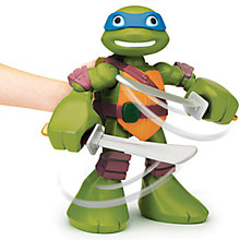 Buy Teenage Mutant Ninja Turtles Half-Shell Heroes: Mega Mutant Leo Online at johnlewis.com