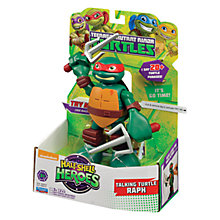 Buy Teenage Mutant Ninja Turtles Half-Shell Heroes: Talking Turtle Raph Online at johnlewis.com