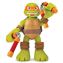 Buy Teenage Mutant Ninja Turtles Half-Shell Heroes: Talking Turtle Mike Online at johnlewis.com