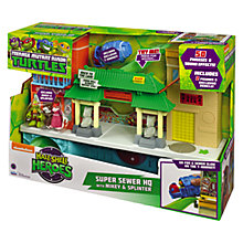 Buy Teenage Mutant Ninja Turtles Half-Shell Heroes: Super Sewer HQ Online at johnlewis.com