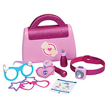 Buy Doc McStuffins Eye Doctor Bag Playset Online at johnlewis.com