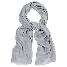Buy Phase Eight Hazel Scarf, Grey Online at johnlewis.com
