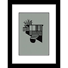 Buy Kristina Dam - Tree House Limited Edition Screenprint, L34 x W44cm Online at johnlewis.com