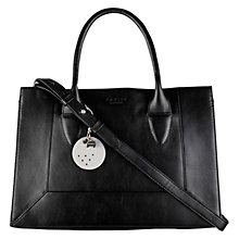 Buy Radley Border Small Multiway Leather Bag, Black Online at johnlewis.com