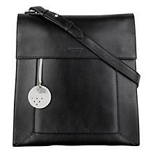 Buy Radley Border Leather Large Across Body Bag Online at johnlewis.com
