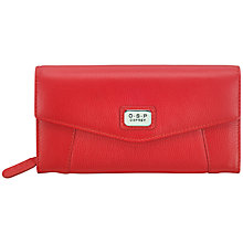 Buy O.S.P LONDON Petra Large Flapover Purse Online at johnlewis.com