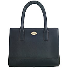 Buy OSPREY LONDON Skelton Grab Bag, Black Online at johnlewis.com