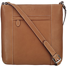 Buy O.S.P OSPREY Murano Medium Leather Across Body Bag Online at johnlewis.com