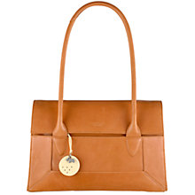 Buy Radley Border Medium Leather Tote Bag, Tan Online at johnlewis.com