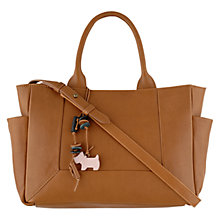Buy Radley Border Leather Tote Bag, Tan Online at johnlewis.com