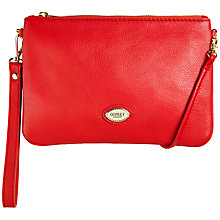 Buy OSPREY LONDON Beaula Pouch Leather Across Body Bag Online at johnlewis.com