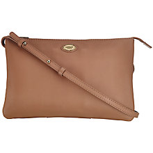 Buy OSPREY LONDON Leather Isla Rectangle Across Body Bag Online at johnlewis.com
