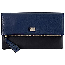 Buy O.S.P OSPREY Nappa Leather Foldover Clutch Bag Online at johnlewis.com