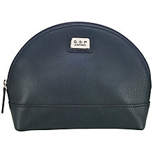 Buy O.S.P OSPREY Sienna Leather Makeup Pouch Online at johnlewis.com