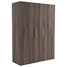 Buy John Lewis Leben 4 Door 160cm Bi-Fold Wardrobe Online at johnlewis.com