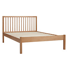 Buy John Lewis Morgan Bed Frame, Small Double, Oak Online at johnlewis.com