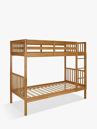 John Lewis & Partners Morgan Story Time Bunk Bed, Oak