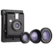 Buy Lomography Lomo'Instant Analogue Camera & 3 Lens Attachments Online at johnlewis.com