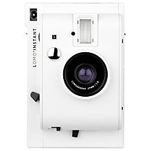 Buy Lomography Lomo'Instant Analogue Camera, White Edition Online at johnlewis.com