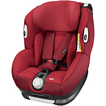 Buy Maxi-Cosi Opal Car Seat, Robin Red Online at johnlewis.com