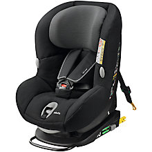 Buy Maxi-Cosi MiloFix Car Seat, Black Raven Online at johnlewis.com