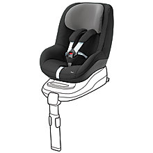 Buy Maxi-Cosi Pearl Car Seat, Black Raven Online at johnlewis.com