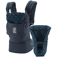 Buy Ergobaby Bundle of Joy Bellybutton Baby Carrier, Blue Star Online at johnlewis.com