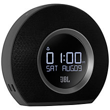 Buy JBL Horizon Clock Radio with Bluetooth and USB Charging Online at johnlewis.com