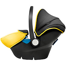 Buy Silver Cross Simplicity Car Seat, Yellow/Black Online at johnlewis.com