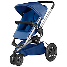 Buy Quinny Blue Base Buzz Xtra Pushchair with Free Car Seat Online at johnlewis.com