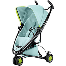 Buy Quinny Zapp Xtra2 Pushchair, Miami Special Edition Blue Pastel Online at johnlewis.com