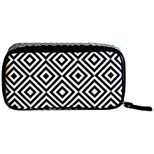 Buy Tender Love + Carry Diamond Cosmetic Pouch, Black/White Online at johnlewis.com