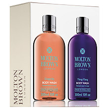 Buy Molton Brown Gingerlily And Ylang-Ylang Body Wash Set, 2 x 300ml Online at johnlewis.com