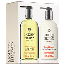 Buy Molton Brown Orange & Bergamot Hand Duo, 2 x 300ml Online at johnlewis.com