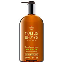Buy Molton Brown Black Peppercorn Body Wash, 500ml Online at johnlewis.com