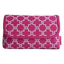Buy John Lewis Crusader Folding Pouch, Pink Online at johnlewis.com